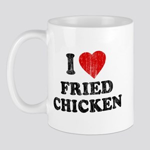 I Love [Heart] Fried Chicken Mug